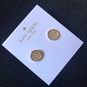 Kate Spade Gold Stud Earrings